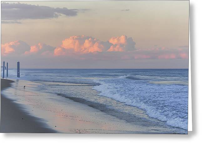 Better Days Ahead Seaside Heights Nj Greeting Card by Terry DeLuco