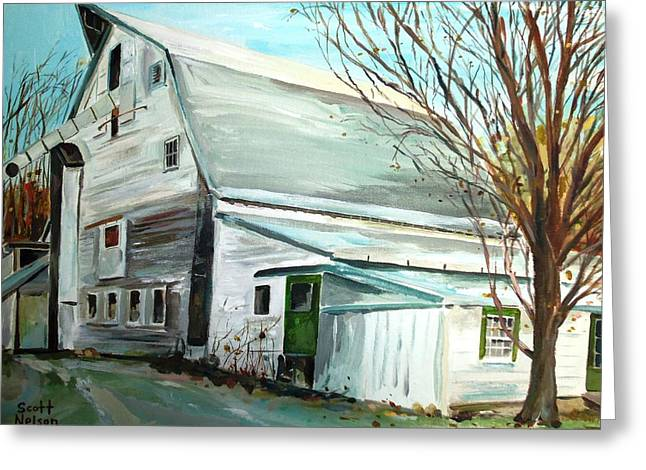 Grafton Ma Greeting Cards - Better Days Greeting Card by Scott Nelson