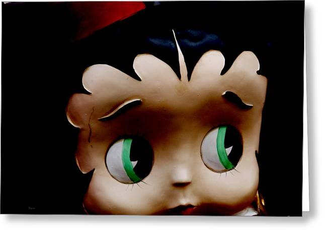 Betty Boop Greeting Cards - Betty Greeting Card by Steven  Digman
