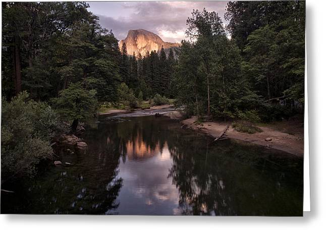 Pond In Park Greeting Cards - Between Every Two Pines is a Doorway to a New World Greeting Card by Melany Sarafis
