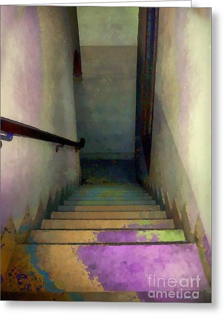 Between Floors Greeting Card by RC deWinter