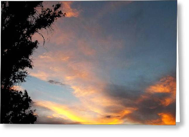 Between Night And Day Greeting Card by Glenn McCarthy Art and Photography