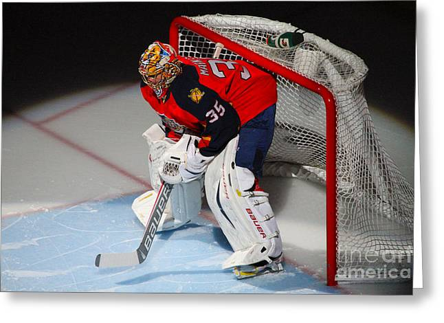 Forida Greeting Cards - Between the Pipes Greeting Card by Rick Bravo