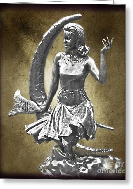 Samantha Greeting Cards - Bewitched Greeting Card by Tom Gari Gallery-Three-Photography