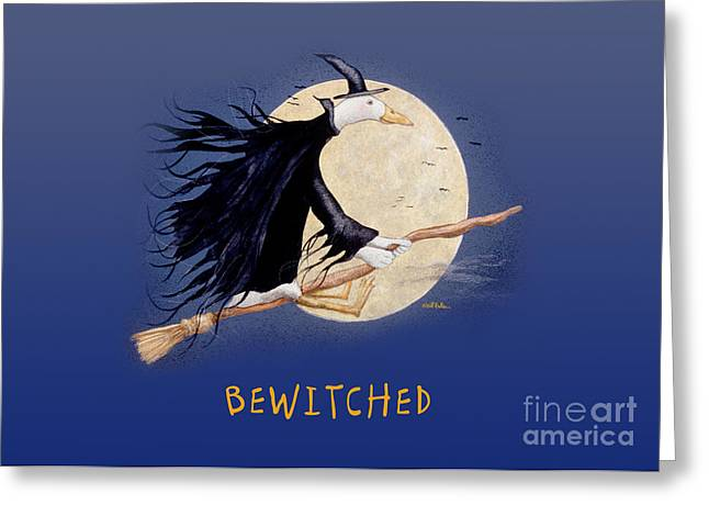Bewitched... Greeting Card by Will Bullas