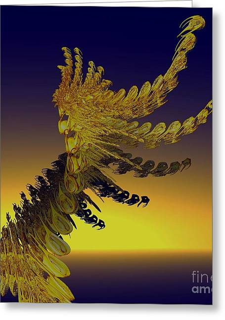Gold Buyers Greeting Cards - Bewitching Greeting Card by Gail Matthews