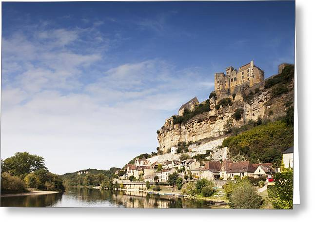 Dordogne Greeting Cards - Beynac et Cazenac Limousin France Greeting Card by Colin and Linda McKie