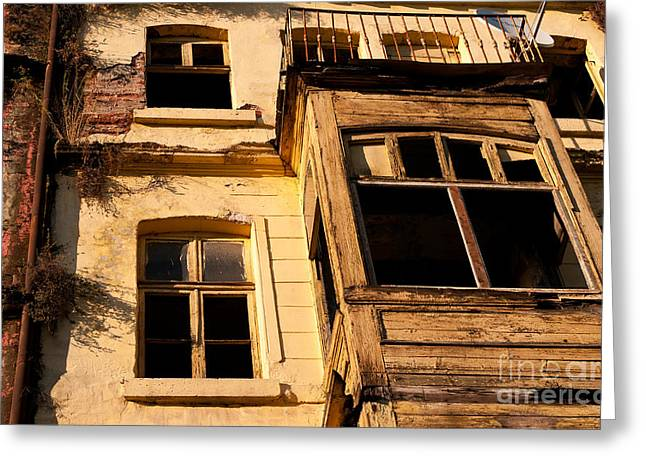 Beyoglu Old House 02 Greeting Card by Rick Piper Photography