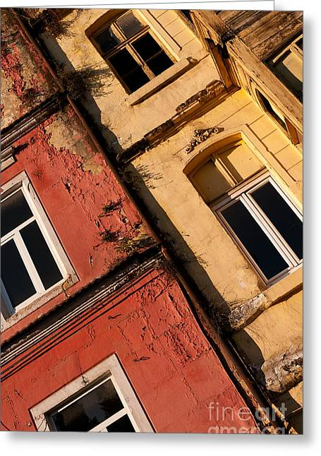 Beyoglu Old Houses 03 Greeting Card by Rick Piper Photography