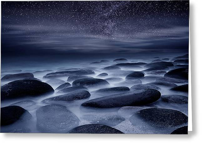 Moods Greeting Cards - Beyond our Imagination Greeting Card by Jorge Maia