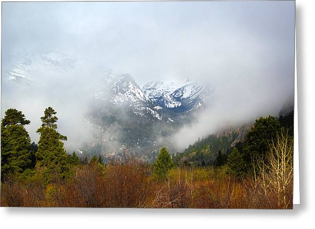 Rocky Mountain National Park Posters Greeting Cards - Beyond Greeting Card by Shane Bechler