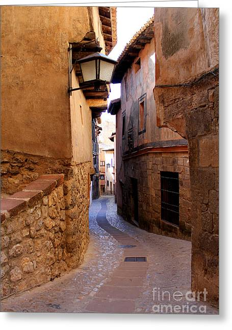 Teruel Greeting Cards - Beyond the Arch Greeting Card by Nieves Nitta