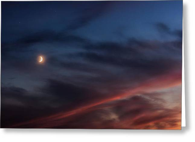 Saturn Greeting Cards - Beyond the horizon Greeting Card by Bill  Wakeley