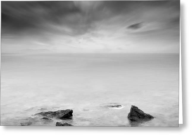 Beyond the horizon Greeting Card by Taylan Soyturk