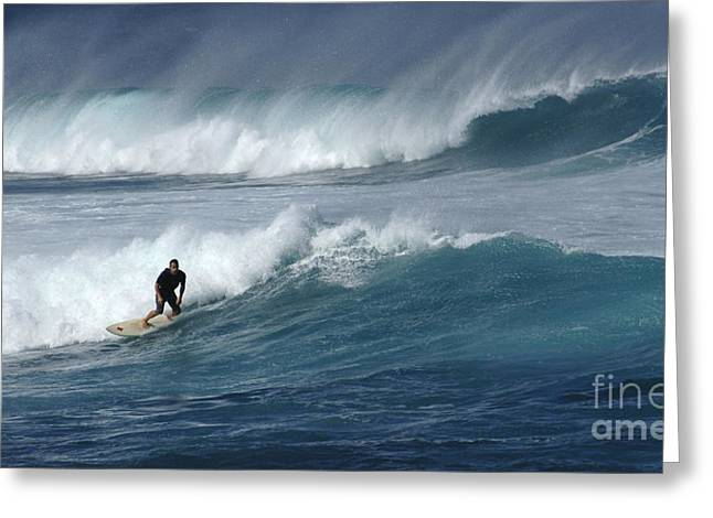 Beyond The Reef Greeting Card by Bob Christopher