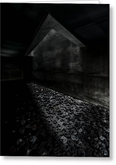 Stream Greeting Cards - Beyond the Void Greeting Card by Peter Benkmann