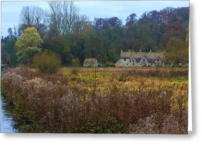 Historical Images Greeting Cards - Bibury Greeting Card by Chris Harman