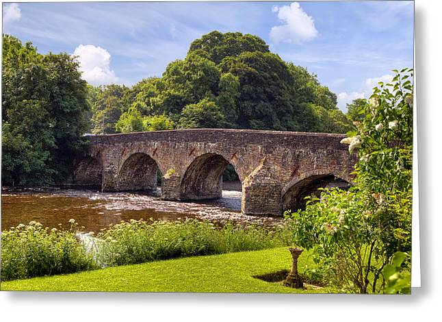 Mid Summer Greeting Cards - Bickleigh - Devon Greeting Card by Joana Kruse
