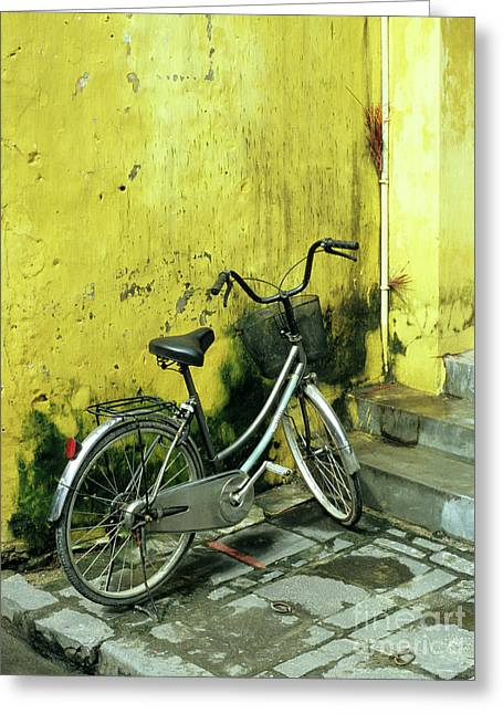 Pushbike Greeting Cards - Bicycle 03 Greeting Card by Rick Piper Photography