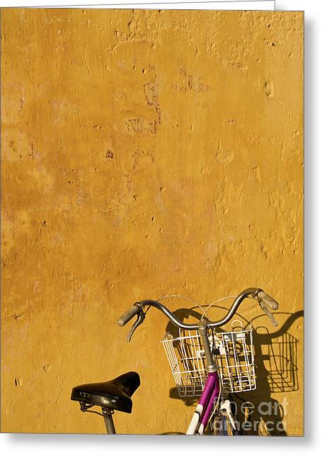 Pushbike Greeting Cards - Bicycle 05 Greeting Card by Rick Piper Photography
