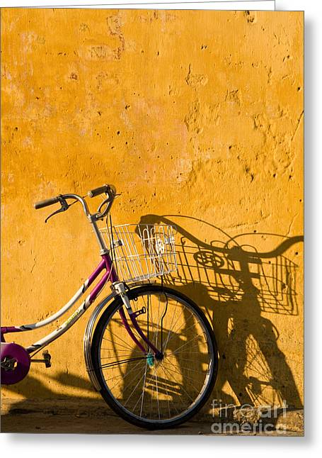Viet Nam Greeting Cards - Bicycle 07 Greeting Card by Rick Piper Photography
