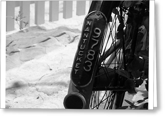Pushbike Greeting Cards - Bicycle - Nantucket 9783 Greeting Card by Richard Reeve