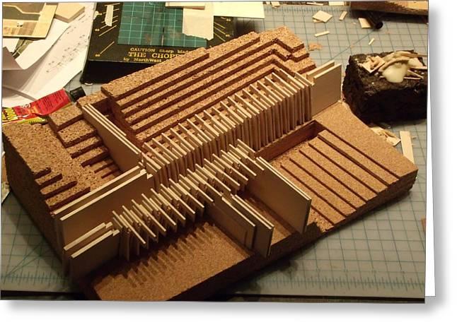Power Sculptures Greeting Cards - Bid Dam 1 Greeting Card by Mark Van Norman