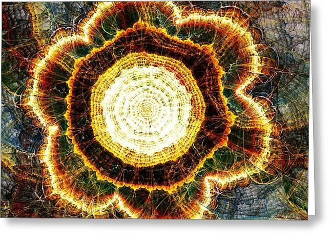 Big Bang Greeting Card by Anastasiya Malakhova