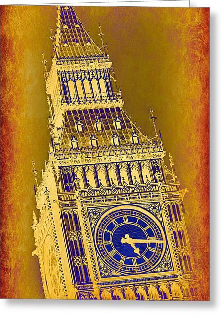 Big Ben 3 Greeting Card by Stephen Stookey