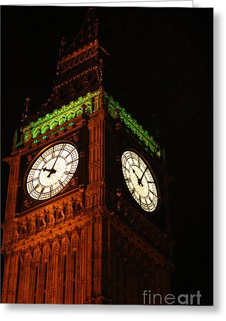 Owner Greeting Cards - Big Ben In London Greeting Card by Michael Braham