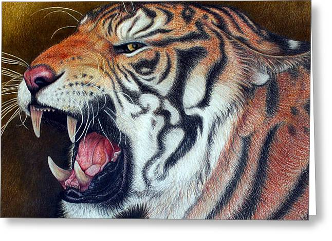 Bengal Drawings Greeting Cards - Big Ben Greeting Card by Jo Prevost