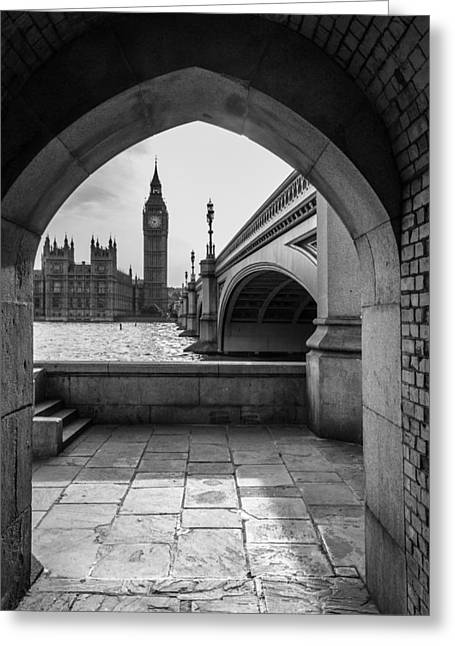Ben Greeting Cards - Big Ben Greeting Card by Yuri Fineart