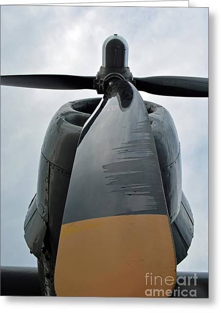 B29 Bomber Greeting Cards - Big Blade Greeting Card by Tom Williams