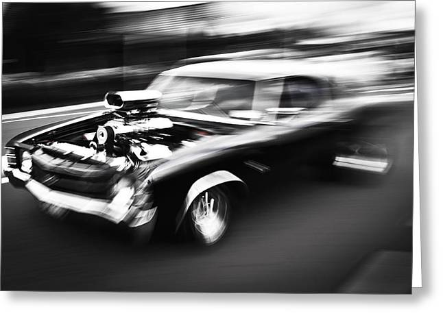 Motography Photographs Greeting Cards - Big Block Chevelle Greeting Card by Phil