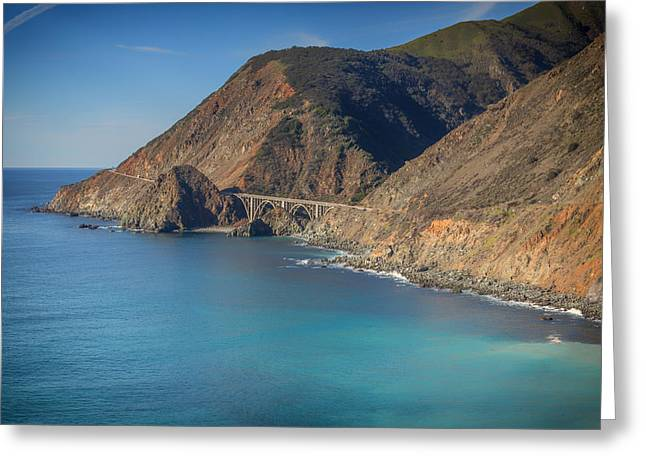 Pch Greeting Cards - Big Creek Bridge 4 Greeting Card by Nadim Baki