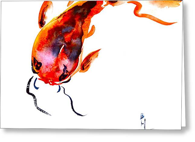 Courage Paintings Greeting Cards - Big Daddy Greeting Card by Beverley Harper Tinsley