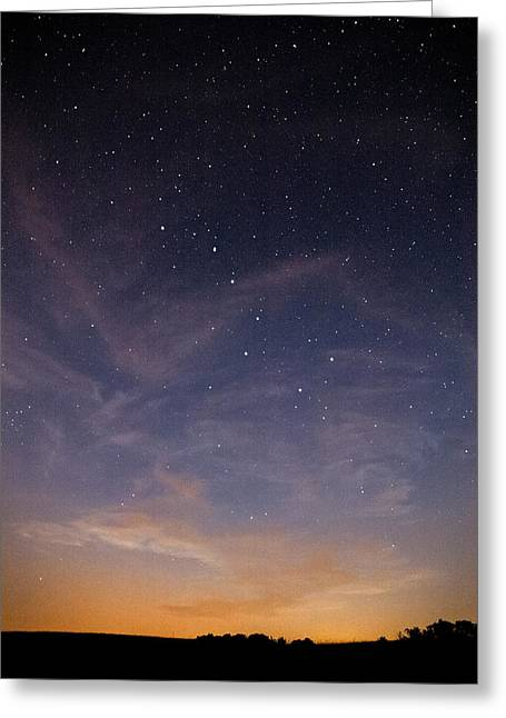 Big Dipper Greeting Card by Davorin Mance