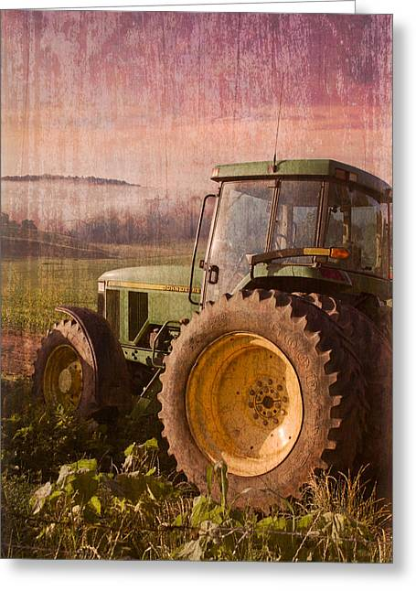 Tennessee Barn Greeting Cards - Big John Greeting Card by Debra and Dave Vanderlaan