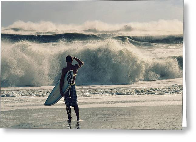 Surf Photos Art Greeting Cards - Big Kahuna Greeting Card by Laura  Fasulo