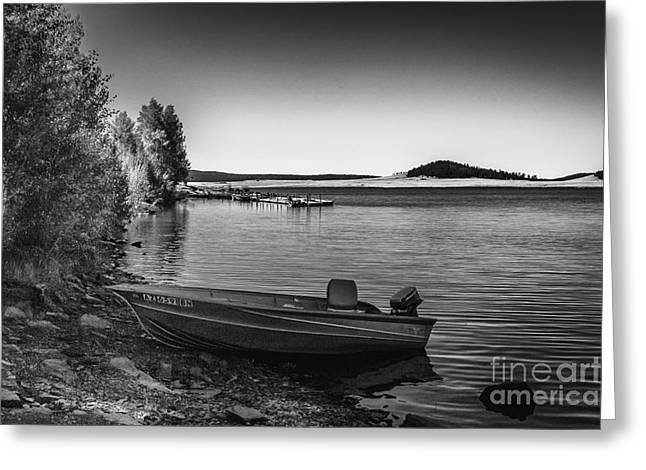 Scenic Photographs Greeting Cards - Big Lake Greeting Card by Arne Hansen