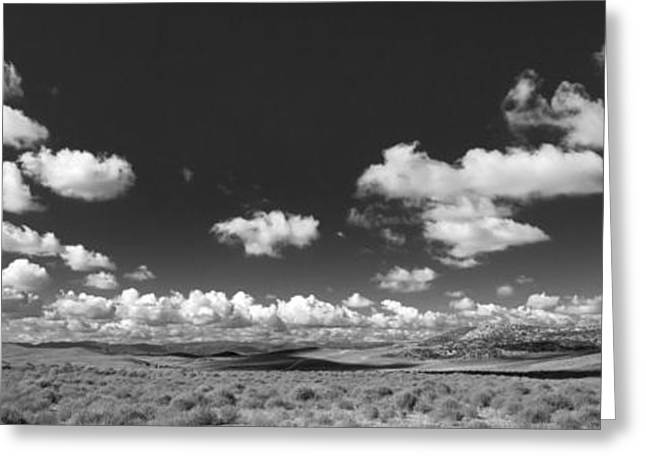Big Sky Country Greeting Cards - Big Greeting Card by Peter Tellone