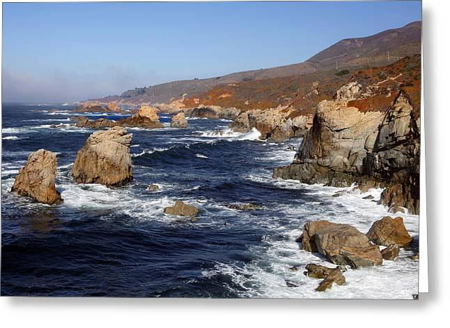 Big Sir California Greeting Cards - Big Sir Coast Greeting Card by Dan Peak