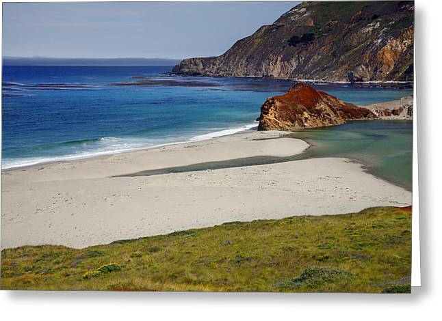 Big Sir California Greeting Cards - Big Sir Coast Line Greeting Card by Dan Peak