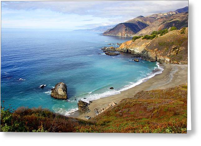 Big Sir California Greeting Cards - Big Sir Coastal Greeting Card by Dan Peak