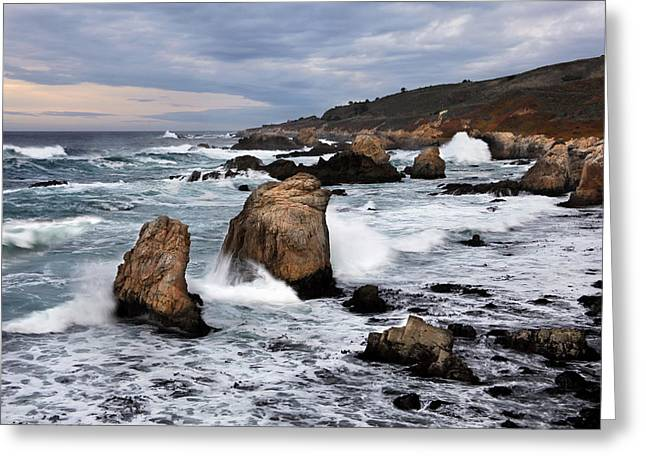 Big Sir California Greeting Cards - Big Sir Coastal Scenic Greeting Card by Dan Peak