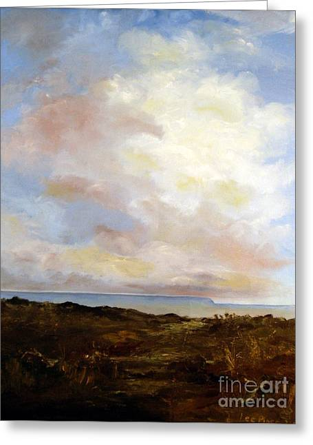 Lee Piper Art Greeting Cards - Big Sky Country Greeting Card by Lee Piper