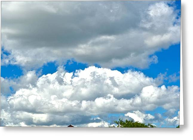 Big Sky Greeting Card by Frozen in Time Fine Art Photography