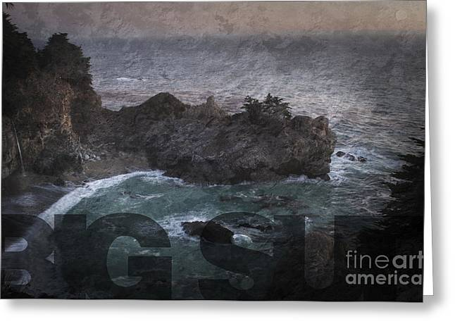 Big Sur Ca Greeting Cards - Big Sur Greeting Card by Art Whitton