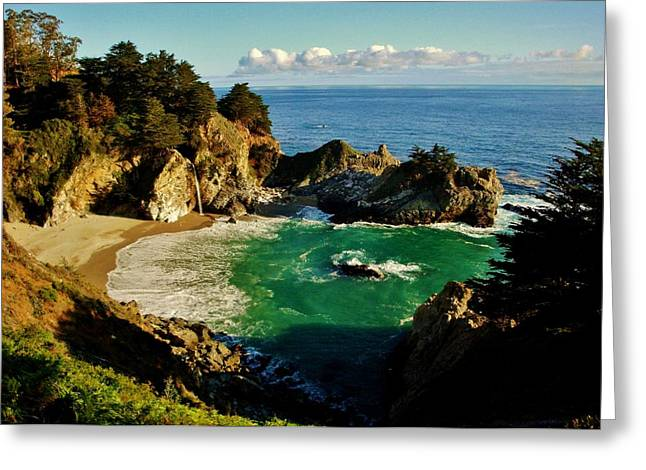 Recently Sold -  - Pfeiffer Beach Greeting Cards - Big Sur Greeting Card by Benjamin Yeager