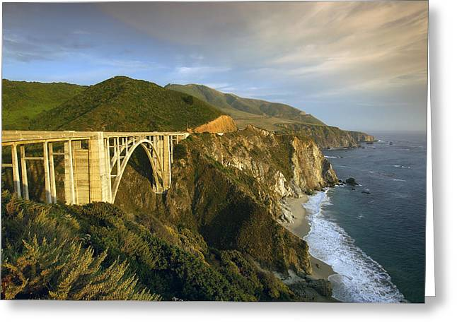 Big Sur California Greeting Cards - Big Sur Greeting Card by Christian Heeb